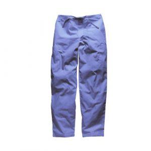 Pantalon medical unisexe Dickies avec cordon ajustable HC50601 (M, Bleu ciel)