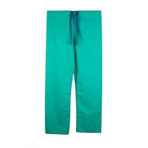 Pantalon medical unisexe reversible (3XL, Vert)