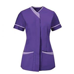Alexandra – Tunique médicale – Femme (FR 50) (Violet/Lilas)