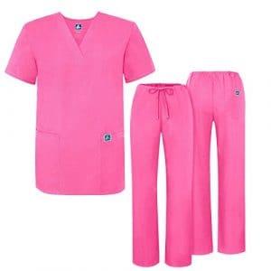 Adar Ensemble Uniformes Unisexe Blouse – Uniforme Médical avec Haut et Pantalon – 701 Couleur: LPP | Taille: 2X