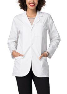Adar Uniforms Blouse de Laboratoire Unisexe – Blouse de Laboratoire pour Les Médecins et Les Scientifiques – 805 Couleur: WHT | Taille: M