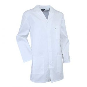 Blouse blanche chimie étudiant et lycéen Pigment LMA – taille 5 – XL