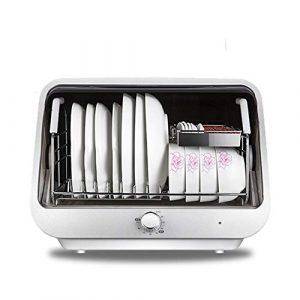 LIANGJING Ménage Mini Cuisine Bureau désinfection Armoire Plat désinfection sécheuse Mini désinfection Cabinet