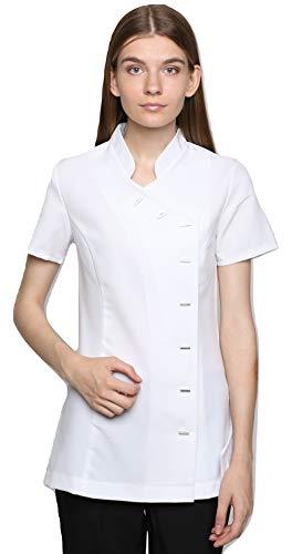 Mirabella Health & Beauty Tunique esthéticienne pour Femme modèle Arete Blanc , taille- 40/12 UK
