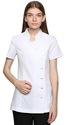 Mirabella Health & Beauty Tunique esthéticienne pour Femme modèle Arete Blanc , taille- 44/16 UK