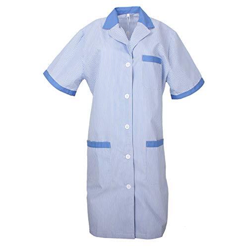 Misemiya – Blouses stérilisées Médical Uniforms Médicaux Unisexe Uniforme Clinique HÔPITAL Nettoyage VÉTÉRINAIRE SANTÉ – Ref.T8162 – Small, Ciel Bleu