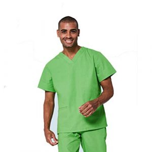 R&r Unisexe Uniformes Infirmières de santé Médecins Docteur en médecine vétérinaire,A,4XL