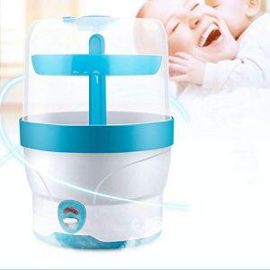 SISHUINIANHUA Biberon Stérilisateur Chaud Lait avec Séchage Fonction Bébé Chauffe-Biberon Stérilisation À La Vapeur Sèche-Heater pour Bottleing Enfants