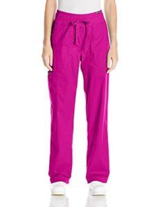 Pantalon médicale Koi Morgan – 7 Couleurs Disponibles (L, Framboise)