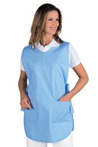 Tablier Médicale Poncho Bleu