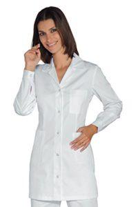 Tunique Médicale Marbella Blanc 100% Coton