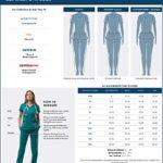 Adar Uniforms (3 Pack – Blouse Médicale de Dessous Manches Longues Tee pour Femmes – 2903 Couleur: BDW | Taille: XXS