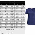 Aibrou Vêtement Medical Femme Ensemble Uniform Coton Col V à Manche Courte Blouse Médical Uniforme Médical avec Haut et Pantalon pour Hôpital Pharmacie Spa de Beauté et Clinique