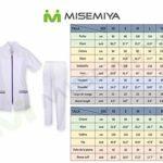 Misemiya – Uniforme Médical avec Haut et Pantalon Uniformes Médical Femme Manches Courtes – Ref.7028 – Small, Lilas