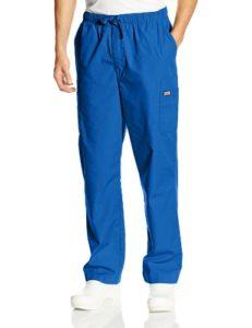 Cherokee Pantalon cargo droit avec cordon pour homme – Multicolore – XL (court)