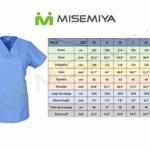 Misemiya – Blouse Femme Manches Courtes Uniforme Clinique HÔSPITAL Nettoyage VÉTÉRINAIRE SANTÉ HÔTELLERIE Ref.707 – X-Large, Ciel Bleu