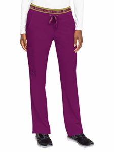 Med Couture Activate Flow Pantalon de yoga 2 poches pour femme – Rose – Taille L