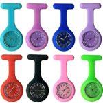 YesDone Lot de 3 montres de poche pour médecin Unisexe