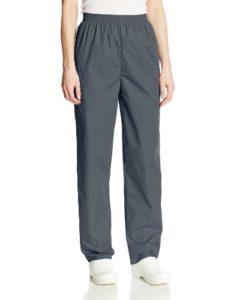 Cherokee Pantalon Unisexe Élastique Pour personnel médical – Argenté – Medium petite