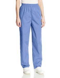 Cherokee Pantalon Unisexe Élastique Pour personnel médical – Bleu – Medium-petite