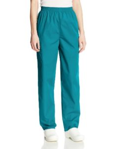 Cherokee Pantalon Unisexe Élastique Pour personnel médical – Bleu – XX-Large-petite