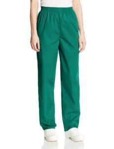 Cherokee Pantalon Unisexe Élastique Pour personnel médical – Vert – Large