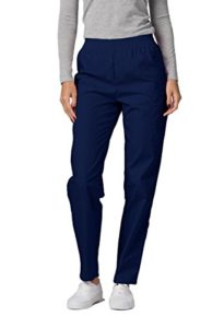 Adar Pantalon Médical Blouses – Pantalons Uniformes d'Hôpital pour Femmes – 503 Couleur: NVY   Taille: S