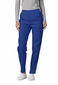 Adar Universal Pantalon Médical Femme – Pantalon Fonctionnel Cargo Fuselé – 503 – Royal Blue – 4X