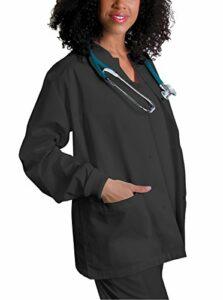 Adar Universal Veste Infirmière – Blouse Chaude à Col Rond – 602 – Pewter – S