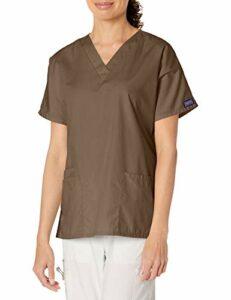 Cherokee 4700 Chemise médicale unisexe à 2 poches – Beige – XXXL