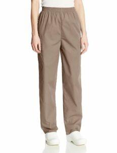 Cherokee Pantalon Unisexe Élastique Pour personnel médical – Beige – Medium petite