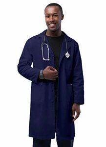 Adar Universal Blouse Médicale Homme – Blouse de Chimie Classique 99cm – 803 – Navy – Size 56