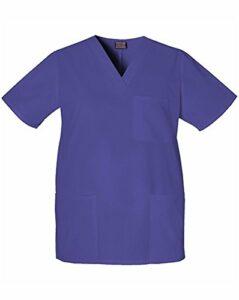 CHEROKEE Blouse médicale pour Femme – Violet – X-Large