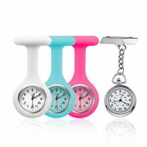 EKdirect Lot de 4 montres d'infirmière