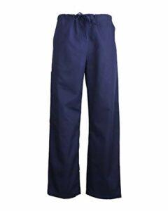 JONATHAN UNIFORM Unisex Pantalon Médical Uniformes d'Hôpital Pantalon de Travail pour Infirmiers Médecins (Navy, L)