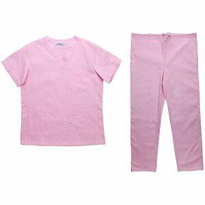 Unisexe Vêtements D'infirmiers Confortable à Porter Spa Uniformes Haut Pantalons