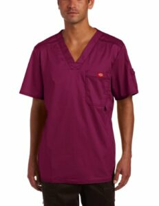 Dickies Generation Flex Youtility Chemise médicale pour Homme – Rouge – X-Small