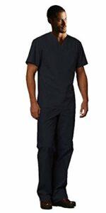Dickies EDS Signature Tenue d'infirmière unisexe (haut et pantalon) – noir – 3XL haut/4XL pantalone