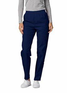 Adar Universal Pantalon Médical Femme – Pantalon Fonctionnel Cargo Fuselé – 503 – Navy – 3X