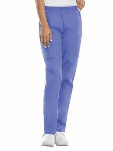 Cherokee Pantalon Unisexe Élastique Pour personnel médical – Bleu –