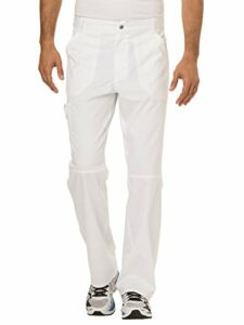 Cherokee Workwear Revolution Pantalon d'infirmière pour homme – blanc – Taille XL