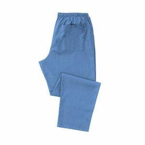 Pantalon médical unisexe pour soins de santé NHS GP et pratique dentaire INS21, bleu pâle, 24-28